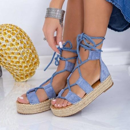 Sandale Dama LE221 Albastru Mei