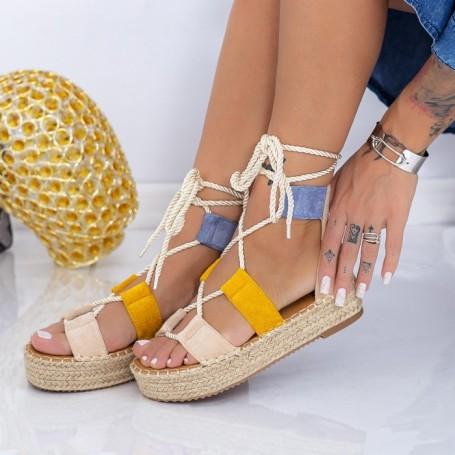 Sandale Dama LE221 Multicolor Mei