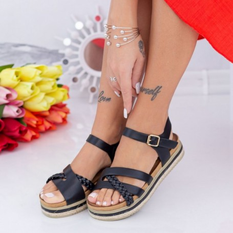 Sandale Dama LM305 Negru Mei