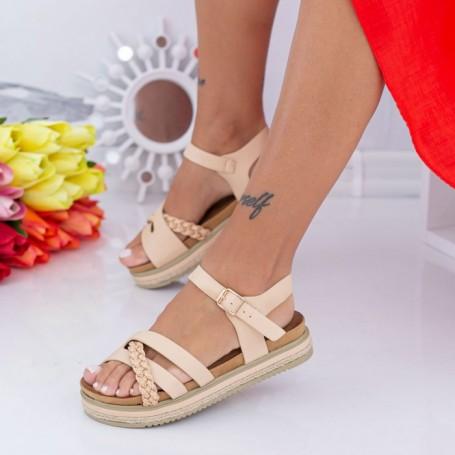 Sandale Dama LM305 Bej Mei