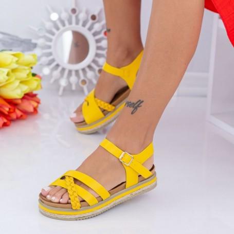 Sandale Dama LM305 Galben Mei