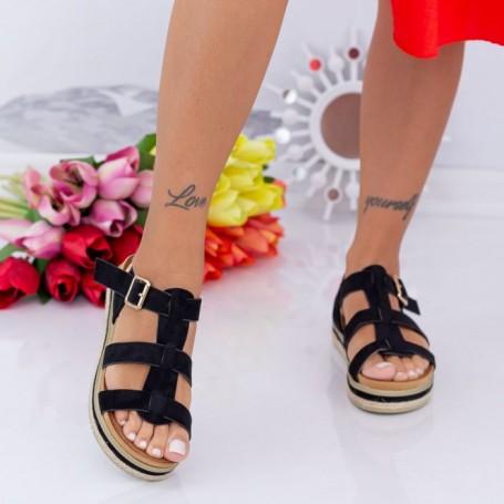 Sandale Dama LM308 Negru Mei