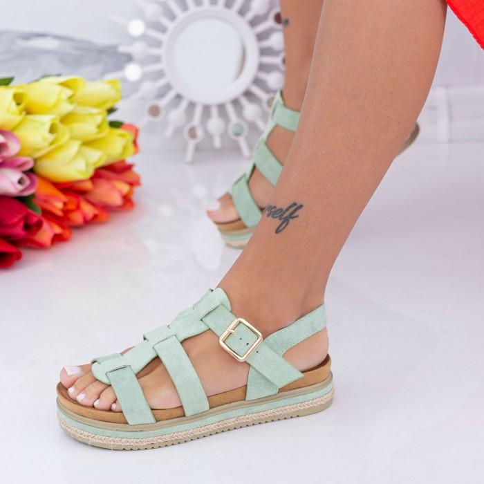 Sandale Dama LM308 Verde Mei