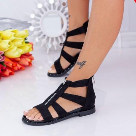 Sandale Dama QZL267 Negru Mei