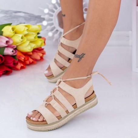 Sandale Dama WT005 Bej Mei