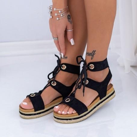 Sandale Dama LM307 Negru Mei