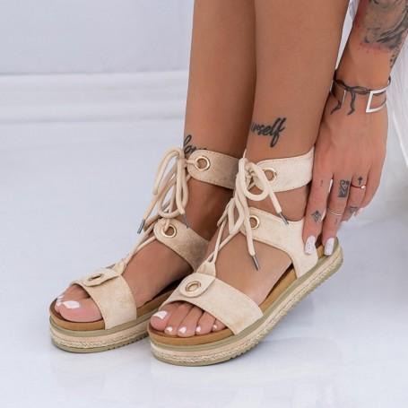 Sandale Dama LM307 Bej Mei