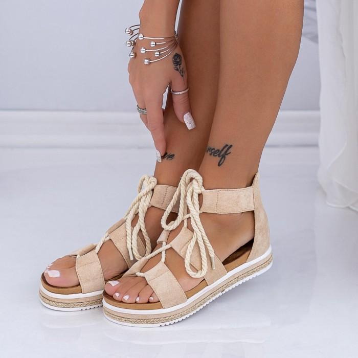 Sandale Dama LM331 Bej Mei
