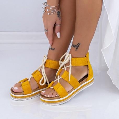 Sandale Dama LM331 Galben Mei