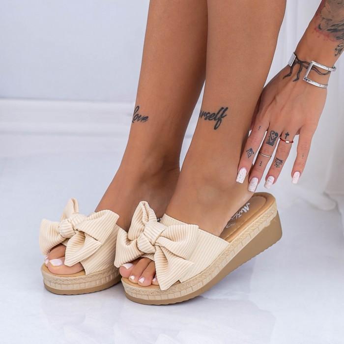 Papuci Dama XN38 Bej Mei