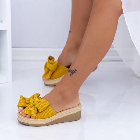 Papuci Dama XN38 Galben Mei