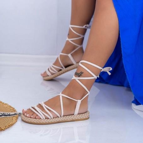 Sandale Dama NX126 Bej Mei
