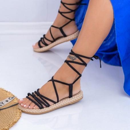 Sandale Dama NX126 Negru Mei