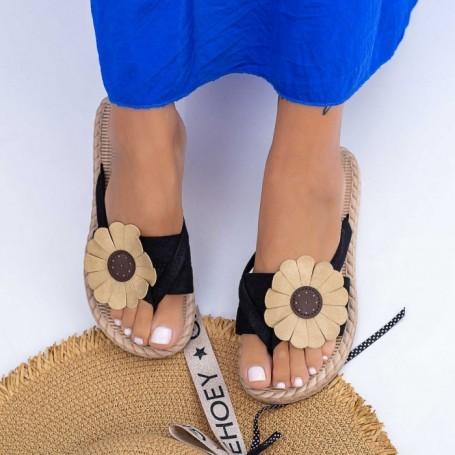 Papuci Dama WLML1 Negru Mei
