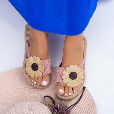 Papuci Dama WLML1 Roz Mei