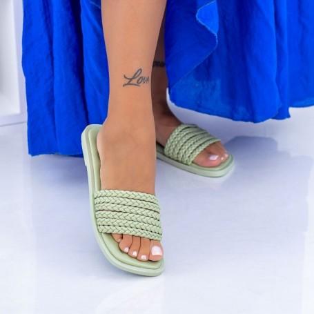 Papuci Dama WLQCZJ1 Verde Mei