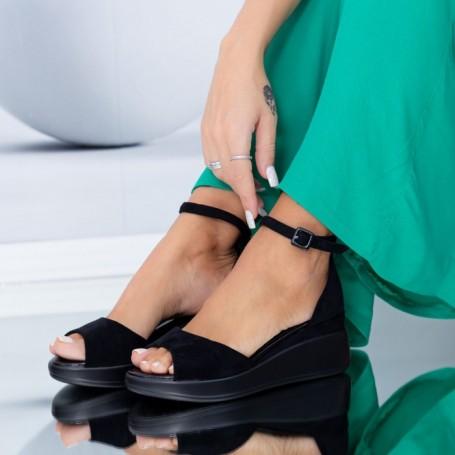 Sandale Dama HXS6 Negru Mei