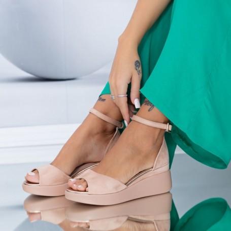 Sandale Dama HXS6 Nude Mei