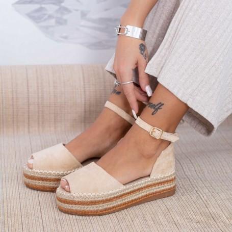 Sandale Dama FS28 Bej Mei