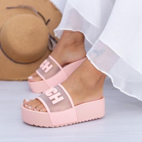 Papuci Dama X7 Roz Mei