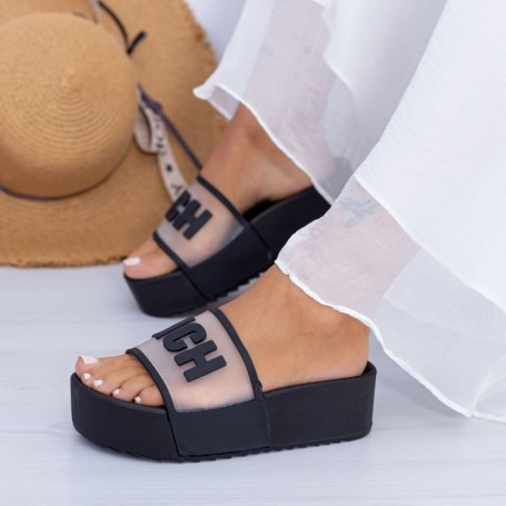 Papuci Dama X7 Negru Mei