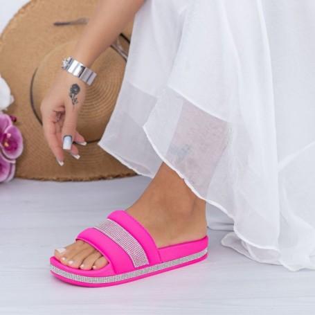 Papuci Dama X9 Fucsia Mei