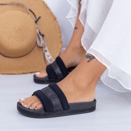 Papuci Dama X9 Negru Mei
