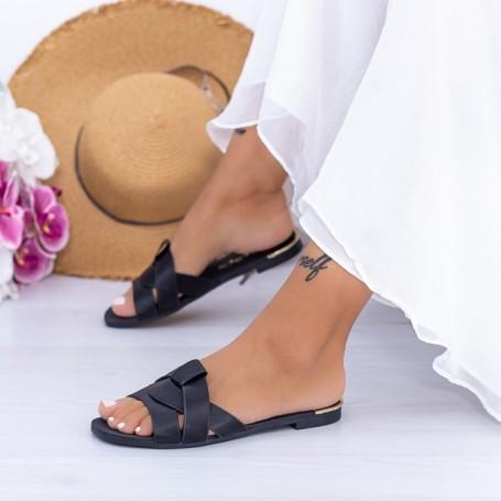 Papuci Dama WS180 Negru Mei