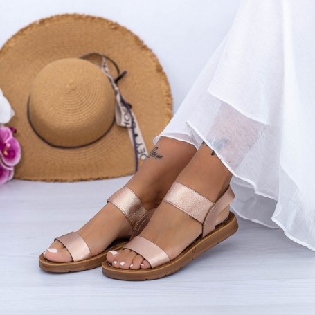 Sandale Dama WS183 Champagne Mei