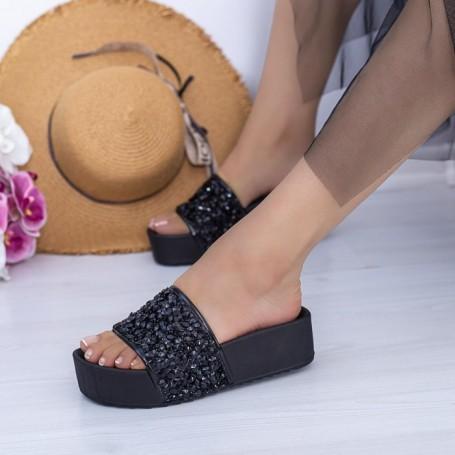 Papuci Dama X15 Negru Mei