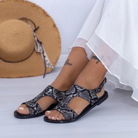 Sandale Dama XQJ5 Negru Mei