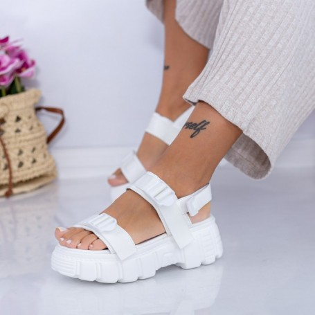 Sandale Dama NX131 Alb Mei