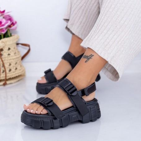Sandale Dama NX131 Negru Mei
