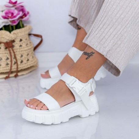 Sandale Dama NX132 Alb Mei
