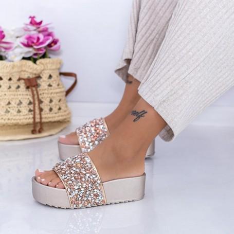 Papuci Dama X15 Roz Mei