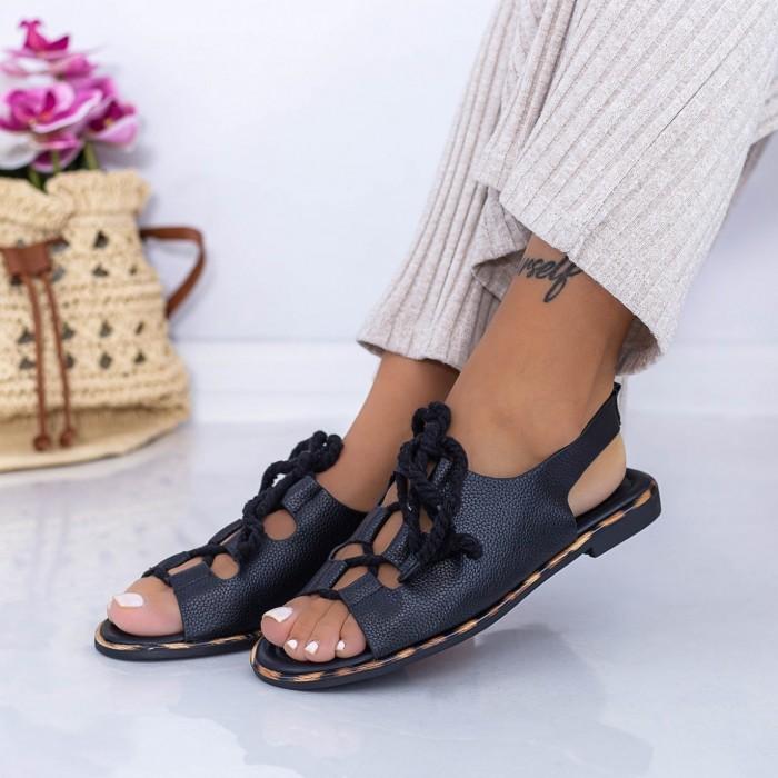 Sandale Dama XQJ3 Negru Mei
