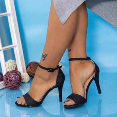 Sandale Dama cu Toc subtire YXD13A Negru Mei
