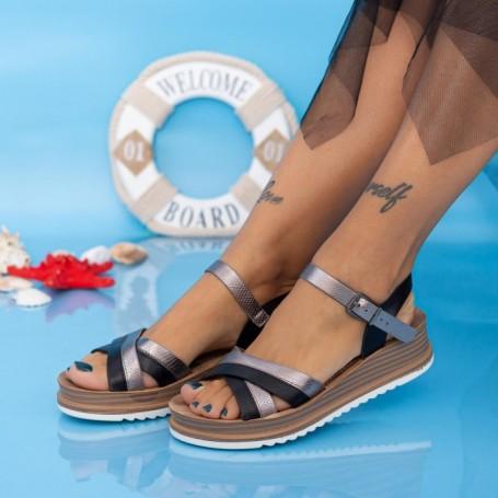 Sandale Dama CS111 Negru Mei