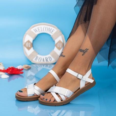 Sandale Dama CS112 Alb Mei