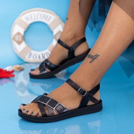 Sandale Dama CS112 Negru Mei