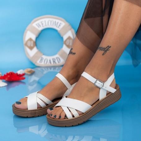Sandale Dama CS113 Alb Mei