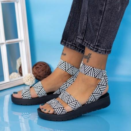 Sandale Dama CS116 Negru Mei
