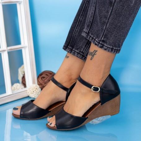 Sandale Dama cu Platforma GH1930 Negru Mei