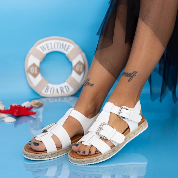Sandale Dama LE211 Alb Mei