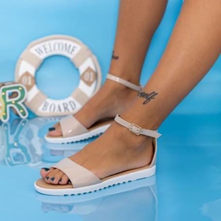 Sandale Dama PT7 Nude Mei