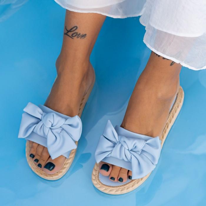 Papuci Dama WS190 Albastru Mei