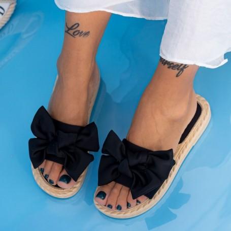 Papuci Dama WS190 Negru Mei