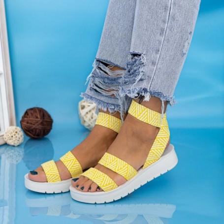 Sandale Dama CS116 Galben Mei