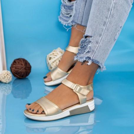Sandale Dama GH1925 Auriu Mei