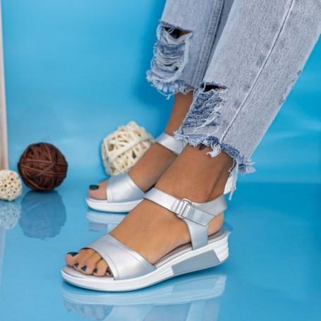 Sandale Dama GH1925 Argintiu Mei